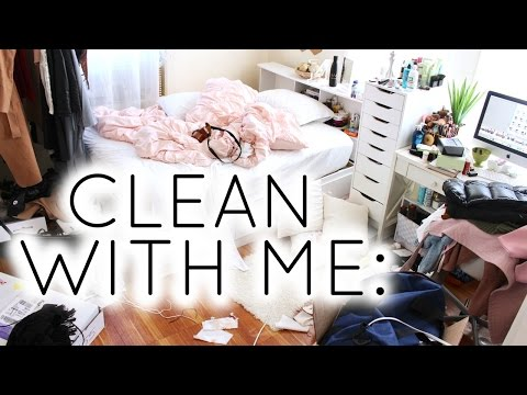 Clean With Me: Bedroom Routine | NYC ROOM (updated)