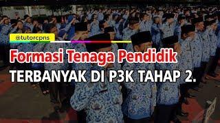 Loker P3k Tahap 2 Segera Dibuka Target Utama Formasi Guru