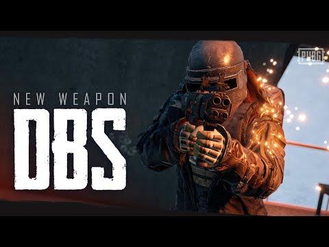 PUBG - New Weapon - DBS