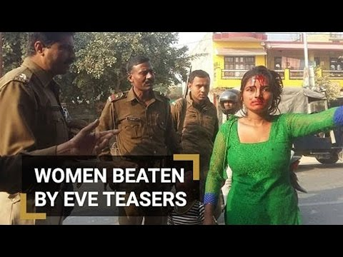 Woman Beaten up with Stick for Resisting Molestation in Mainpuri - Watch Exclusive