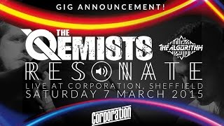 LIVE! Resonate // The Qemists // The Algorithm @ CORPORATION