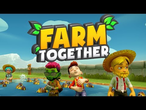Farm Together  1  WE&39;RE FARMERS NOW!!! (4 Player Gameplay)