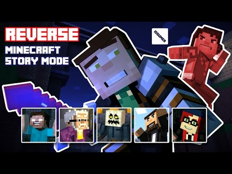 FULL REVERSE Minecraft Story Mode! Play as GOOD Aiden! (Evil Team Series)