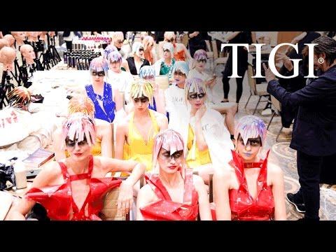 Behind the Scenes // TIGI World Release
