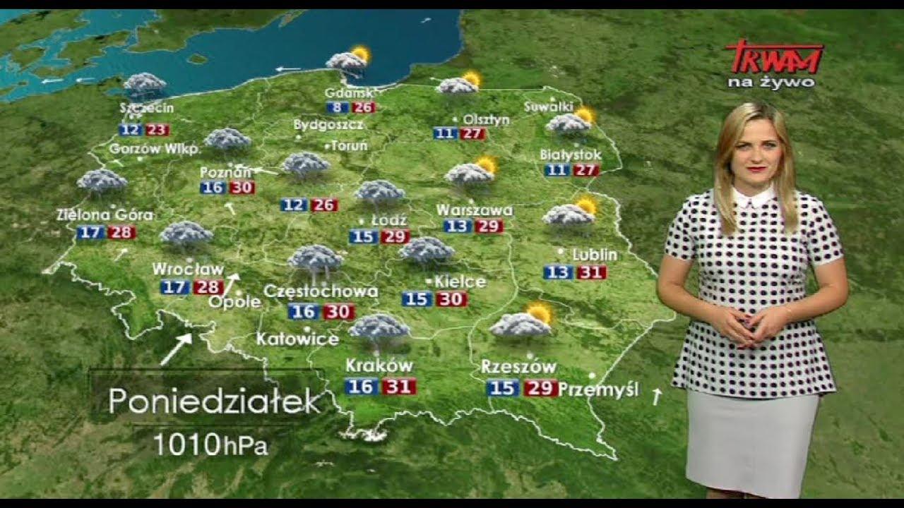 Prognoza pogody 10.07.2017
