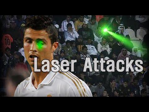 Laser Pointer Attacks in Football | 축구 레이저 포인터 공격 모음