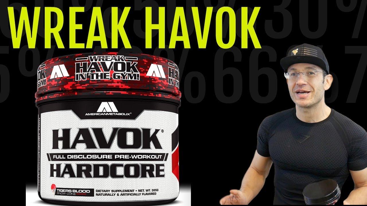 Havok Hardcore Review Attn Stim Junkies Plus Pre Workout