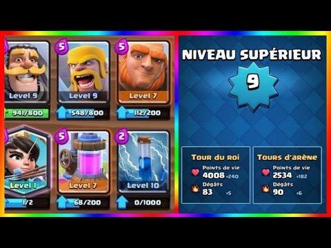 Clash Royale / Le Meilleur Level 9 Français à 4000 TROPHEES