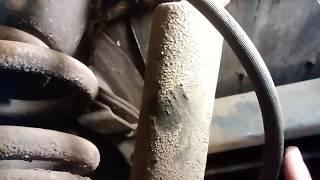 1964 Chevy c10 c20 rear brakes not bleeding