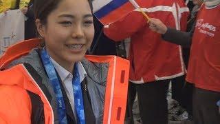 高梨選手、韓国入り 「いい練習できた」