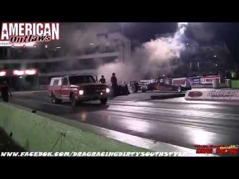 Street Outlaws Farm Truck vs Jet Dragster