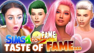 SUMMER'S TASTE OF FAME....🌟 (The Sims 4 ROAD TO FAME #6!🤩)