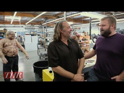 THR Visits the Studio of Greg Nicotero of 'The Walking Dead'
