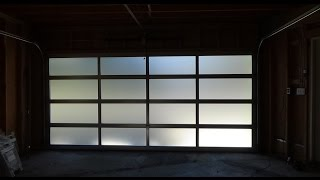 All Glass Garage Door/Full View - Modern & Elegant