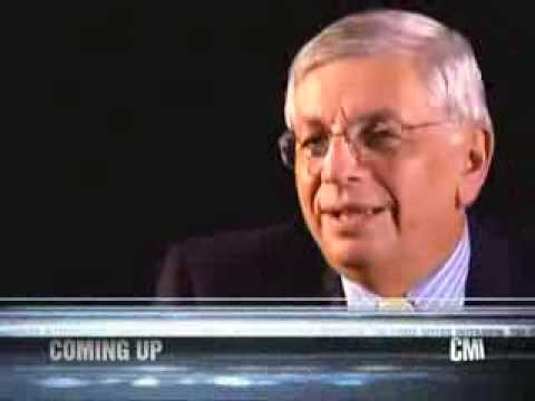 Chris Myers interviews David Stern