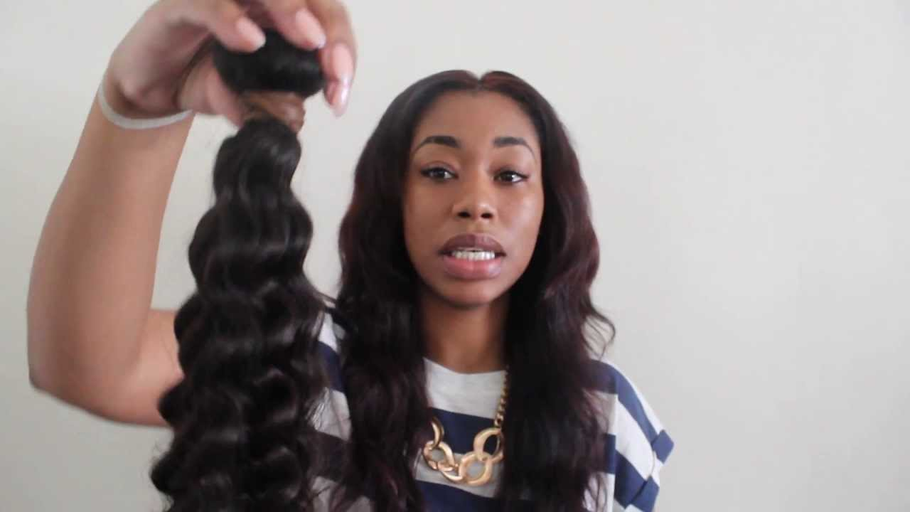 Aliexpress Hair Initial Review Unboxing Featuring Queen Weave