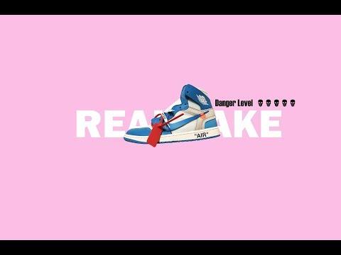 [English Sub] NIKE Air Jordan Off White UNC Real Vs Fake In Depth Comparison
