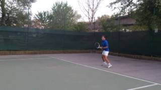 Angel Gyorgievski My tennis game 2014   second part