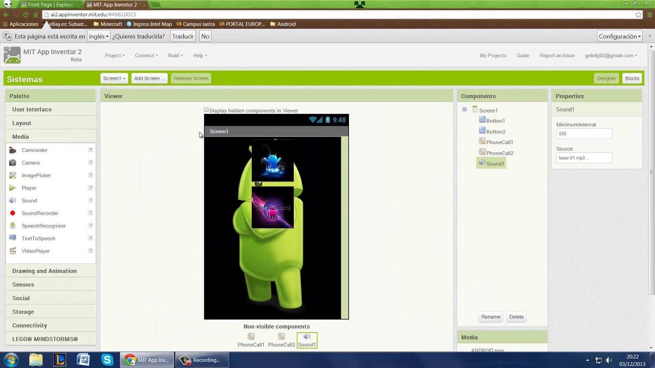 Crear aplicaciones android con appinventor doovi for Programa para disenar oficinas
