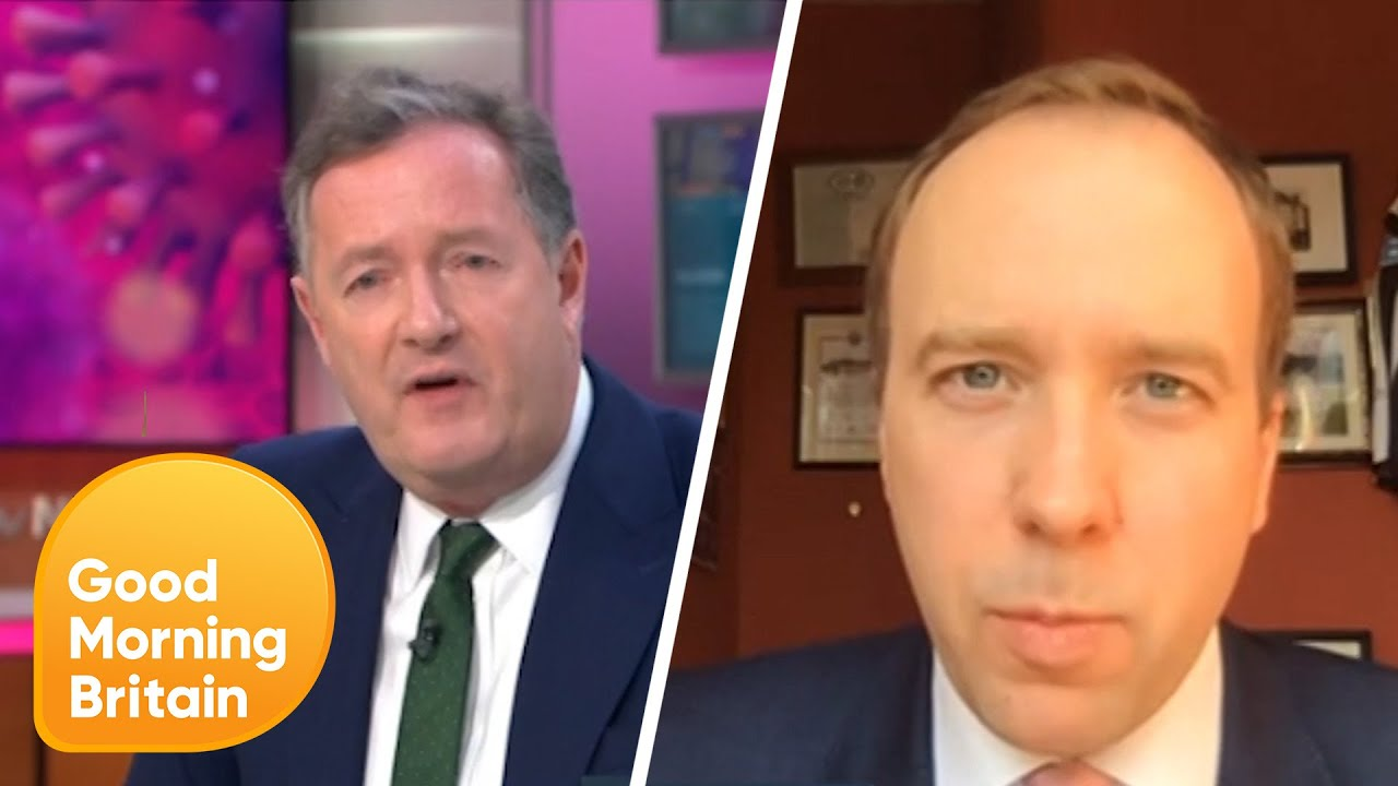 Piers Morgan stunned as minister ends GMB interview after he ...