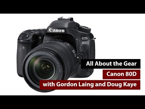 Canon 80D Review - All About the Gear