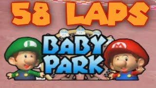 58 Laps of Baby Park - Mario Kart Double Dash Hack