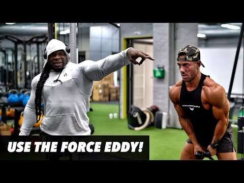 TRAINING WITH KAI GREENE @ ACTIVE BODIES WORLD  DELTOIDS