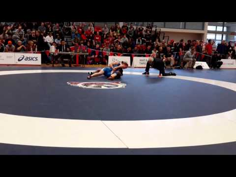 2015 Senior National Championships: 55 kg Emma Crouch vs. Amber Maschke
