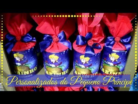 Decoração   Personalizados do Pequeno Príncipe   Vídeo 2 - Série do Tema do Pequeno Príncipe