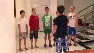 boys choir private show