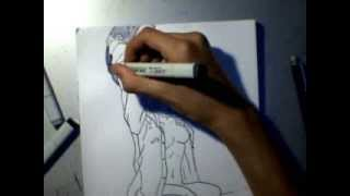 How to draw Lucy/nyuu Elfen lied
