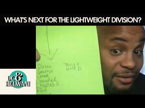 DC & Helwani discuss what's next for the UFC lightweight division | ESPN MMA