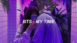 BTS (방탄소년단) 'My Time' Easy Lyrics
