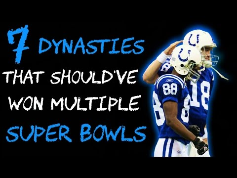 7 DYNASTIES That Should Have Won MULTIPLE Super Bowls