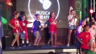 Elliott's musical theater debut