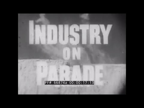 INDUSTRY ON PARADE   OFFSHORE RADAR STATION   FOOD EVAPORATORS  SUSPENDERS   BOOKBINDERS 66874a