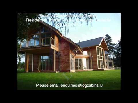 Residential Log Cabins UK