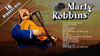 Marty Robbins Greatest Hits - Marty Robbins Playlist - Greatest Country Music hits of 50s