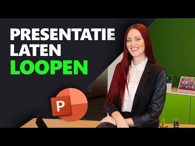 PowerPoint automatisch laten afspelen | PowerPoint Basics | PPT Solutions