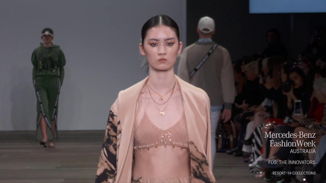 FDS: THE INNOVATORS MERCEDES-BENZ FASHION WEEK AUSTRALIA RESORT 19 COLLECTIONS
