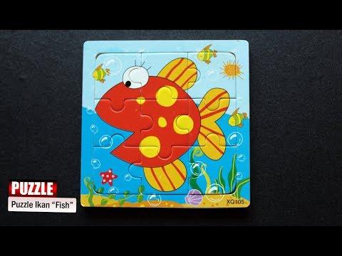 Puzzle Ikan Permainan Puzzle Anak Senangnya Bermain Puzzle Youtube