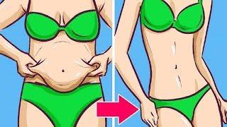 Schau wie du schnell innerhalb weniger Tage eine perfekte Taille bekommst!