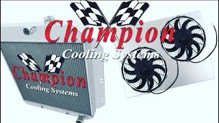Champion Radiator Review/Install Fan Shroud EC33 F100 C10