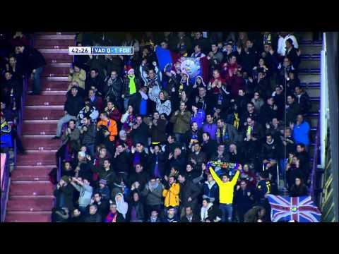 Gol de Xavi Hernández en el Real Valladolid (0-1) FC Barcelona - HD