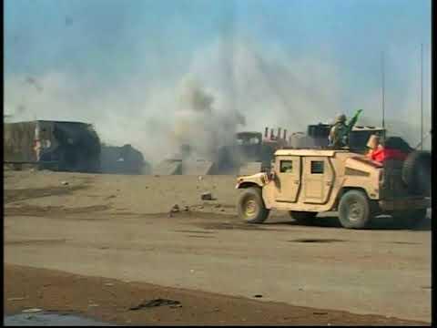 Infantry Goes Into Battle in Fallujah, Iraq (Nov. 26, 2004)