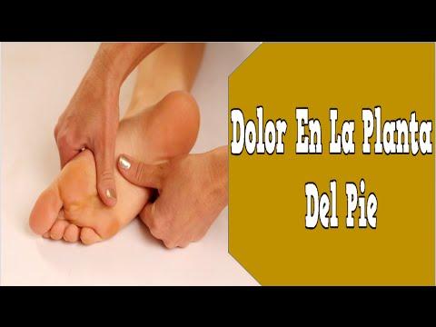 Dolor En La Planta Del Pie Fascitis Plantar Vendaje
