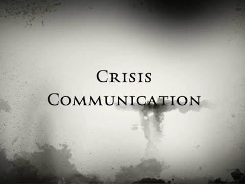 Crisis Communication Overview