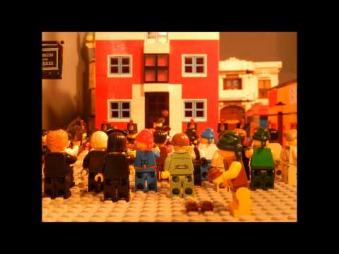 Lego American Revolution: The Boston Massacre