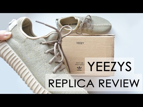 Yeezys Replica Review // 2 different kinds replicas compared // Oxford tan