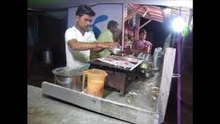 Dosai Dosa Along The Road In Puri India - Chaat